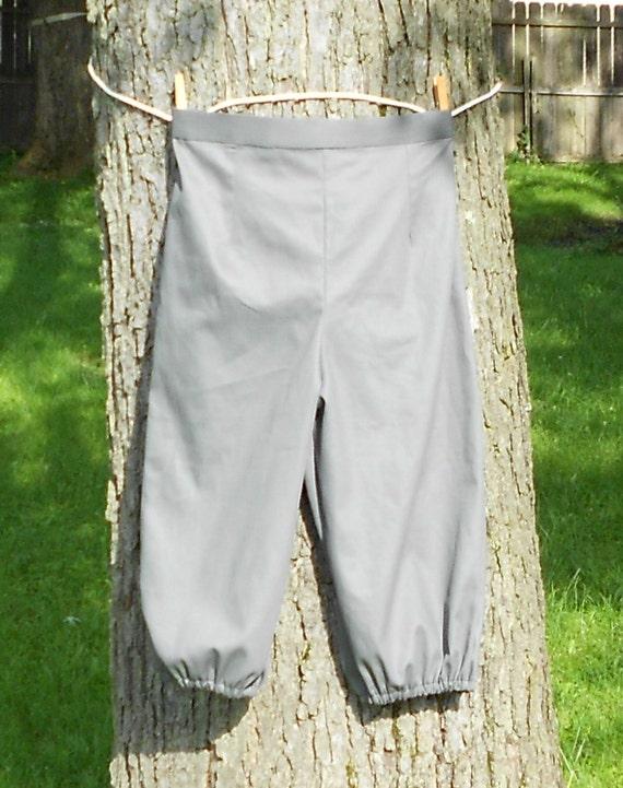 Mens Renaissance Pants Breeches Knickers Size XSm - XXLg Custom Made CS6IVN