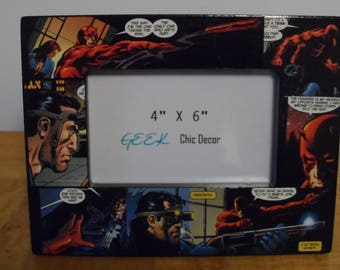 DaveDevil/Punisher Picture Frame