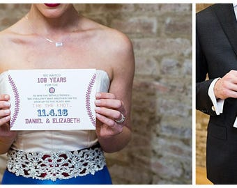 Baseball Themed Invitation or Save the Date