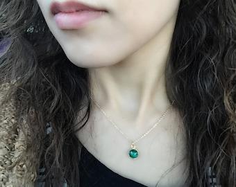 Malachite Necklace set,  Natural Malachite necklace, Malachite Earrings, Malachite Jewelry set, Natural gemstone jewelry
