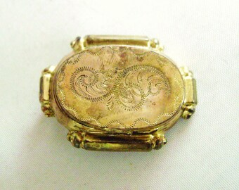 SALE Antique Gold Filled Locket, Victorian Locket,  NOW 125.00 WAS 180.00