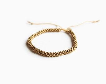 Prana Gold Anklet