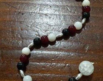 Triple Goddess Prayer Beads