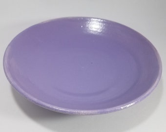 Lilac Shallow Bowl