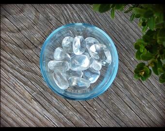 Tumbled Rock Crystal Quartz