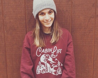 Cabin Life Hoodies