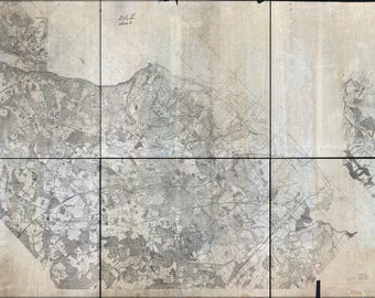 Poster, Many Sizes Available; Map Of Virginia Alexandria To Potomac River 1860S