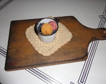 Primitive Cutting Board Bread Board