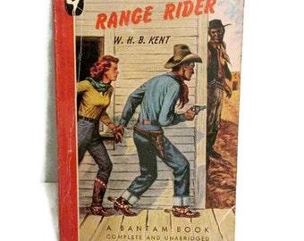 The Range Rider - Western pulp fiction - 1947 - WHB Kent - Arizona