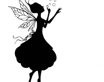 Lavinia Stamps Clear Rubber Stamp - Giselle Silhouette