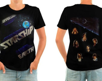 JEFFERSON STARSHIP earth shirt all sizes