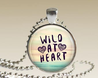 Wild at Heart Necklace Boho Necklace Beach Necklace Gift for Her N113