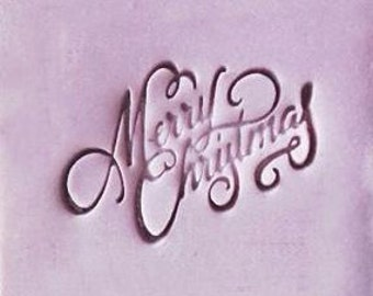 Merry Christmas Soap Stamp Handmade Soap Stamp Acryllic Soap Stamp