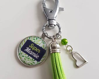 Keychain or bag Super Grandma
