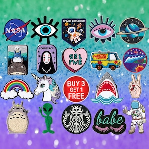 Feminist Patches Girl Power Patches Iron On Patch Embroidered Patch Sew On Patch Patches For Jeans
