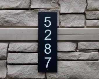 Address Numbers Sign, House Numbers Sign, Address Plaque, Numbers Plaque, Vertical Address Sign, FREE SHIPPING!