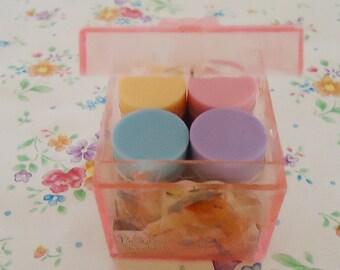 Beautiful Sunday Cased Four Eraser.80s.Kutsuwa Japan