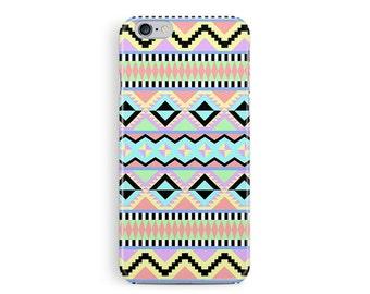 Pastel iPhone 5c case, Aztec iPhone case, Plastic Case, Ethnic Phone Case, Geometric phone case, Pattern iphone 5c case, Pastel Trend, cool