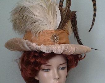 Ladies' Upcycled Edwardian Style Hat