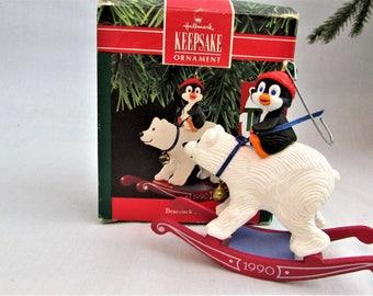 1990 Bearback Rider - Hallmark Keepsake Ornament