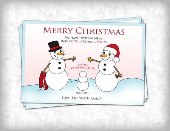 christmas pregnancy announcement card akba greenw co