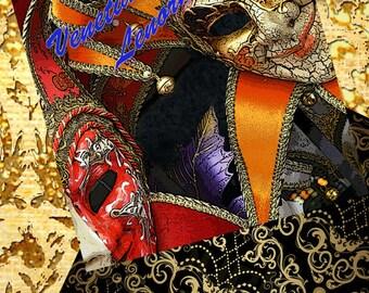 Venetian Carnival Lenormand