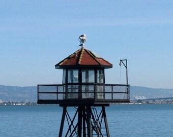 California, USA Photography, Color, Travel, Digital Download, Image, Desktop Background, Home Decor, San Francisco, California, Alcatraz