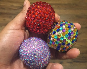Design Your Own Rhinestone EOS Lip Balm (Choose your color and/or flavor)