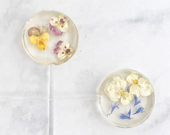 Spring Favor - Flower Lollipop - Candy Flowers - Spring Lollipop - Garden Lollipop - Flower Favor - Spring Flower - Favor lollipop