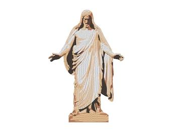 Christus Christ Jesus Embroidery Machine Design