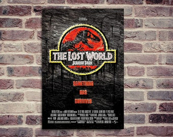 Jurassic Park poster. Jurassic Park. Movie poster. The lost World.