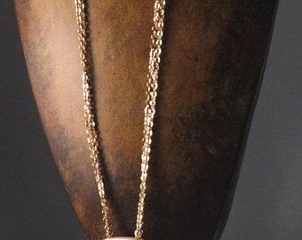 Vintage Necklace Ivory Mod 1960s Necklace