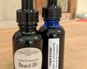 Cold Water Clean Scented Beard Oil