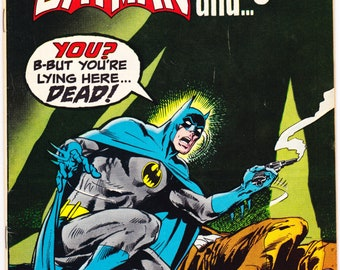 Brave and the Bold 95, Plastic Man, Batman comic, gifts, Neal Adams art, Bronze Age. 1971 DC Comics in VF+ (8.5)