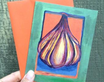 Garlic Card #1