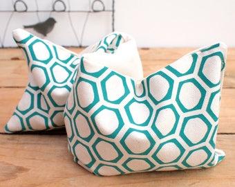 Classic Wheat Bag Honeycomb Print