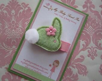 Girl hair clips - Easter hair clips - girl barrettes