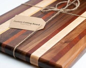 Made to Order Wooden Cutting Board, Butcher Block Cutting Board