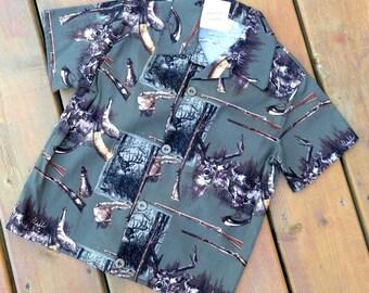 Size 6, Children's Shirt ( Boy's hunting shirt ) Boy's shirt