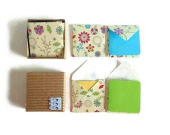 Spring Flowers Envelopes - Mini Stationery Set