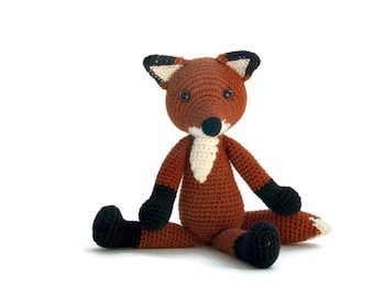 Crochet pattern Fox - amigurumi - instant download pdf