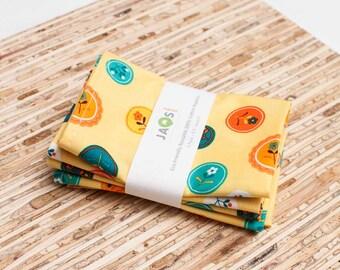 Eco-Friendly Small Cloth Napkins - Set of 4 - (N862s)