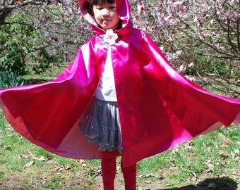 READY TO SHIP Fairy Princess Cape-Rosetta, Size 3-8
