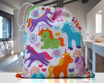Unicorn Wash Bag de la jeune fille