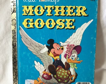 A Little Golden Book, Walt Disneys Mother Goose