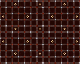 Moose Creek Lake Brown Plaid 3424-58 from Studio E by the yard