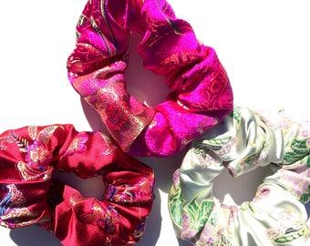 Chinese Brocade Scrunchie Bundle