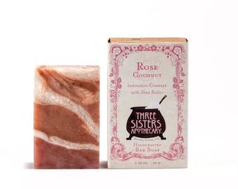 Rose & Coconut Bar Soap - 1.75 oz.