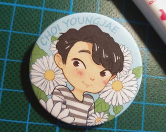 Got7 Youngjae buttons, charms