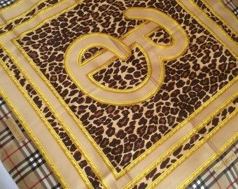 Burberrys, women's silk scarf